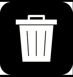waste icon vector image