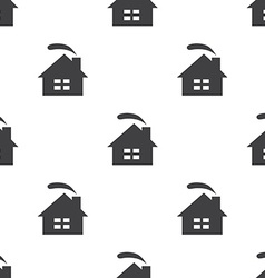 cozy home seamless pattern vector image vector image
