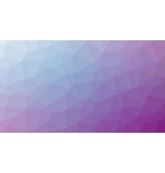 Abstract violet gradient lowploly of many vector image