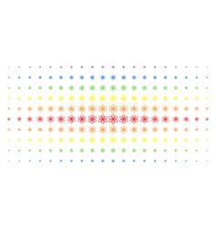 Atom spectral halftone pattern vector