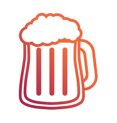 beer jar icon image vector image