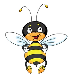 good bee vector image