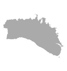 Map of menorca vector