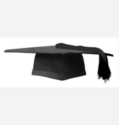 Mortarboard vector