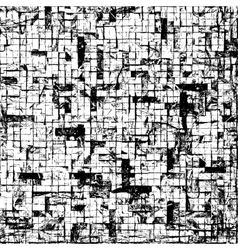Mosaic brick texture vector