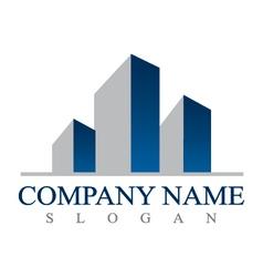 Real estate businessl logo vector