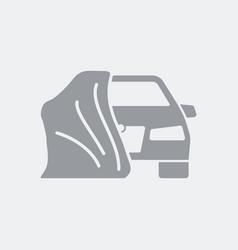 revelation of new car model vector image