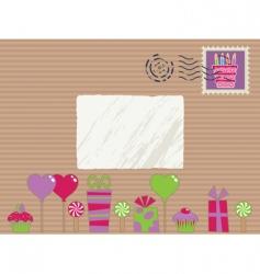 party parcel vector image