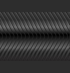 black glossy metal arrows background vector image vector image