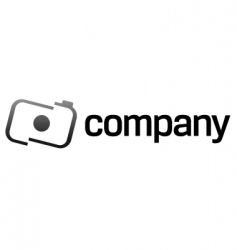 camera logo design vector image