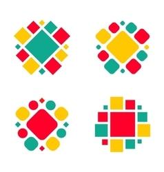 Company logo design elements vector image vector image