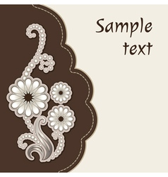 Decorative cover vector image