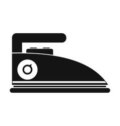Iron black simple icon vector image
