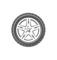 vintage element of the car service vector image vector image