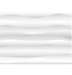 abstract white and gray water wave background vector image