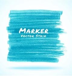 Blue Light Marker Stain vector