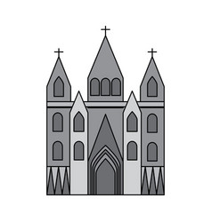 church cathedral icon image vector image