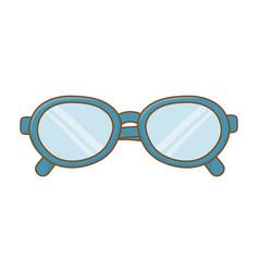 Glasses icon cartoon vector