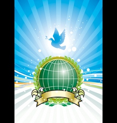 global ecology vector image