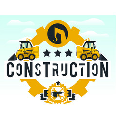 On the theme of the construction vector