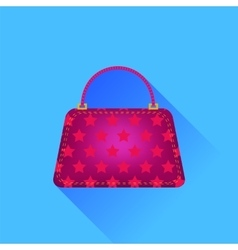 Red Handbag vector