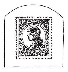 Stamp vintage vector