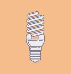 Efficient energy saving fluorescent light vector