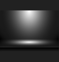 3d empty studio room show booth for designers vector image