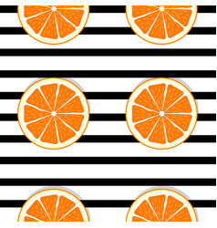 Abstract orange seamless pattern background vector