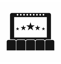 Cinema icon simple style vector image