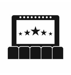 Cinema icon simple style vector image vector image