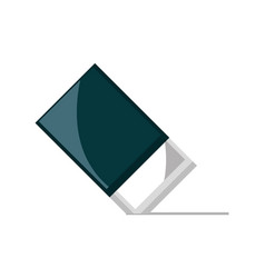Eraser supply study school education isolated icon vector