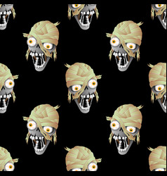 Heads of zombies vector