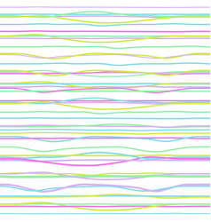 Multi colored horizontal band textures vector