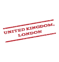United Kingdom London Watermark Stamp vector