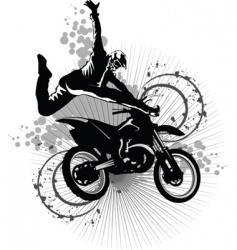 Dirt bike vector