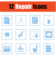Set of repair icons vector