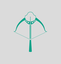 crossbow icon vector image
