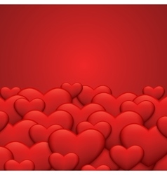modern red valentines day or 8 march vector image vector image