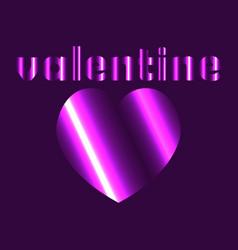 Abstract love valentine logo vector