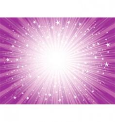 Abstract stars design vector