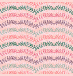floral seamless background pattern for textile vector image