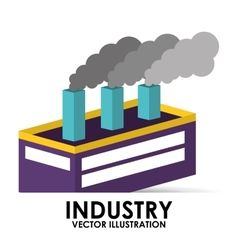 industry building vector image