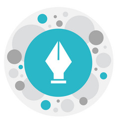 Knowledge symbol on ink pen vector