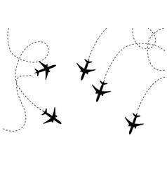 plane icon flat pictogram vector image