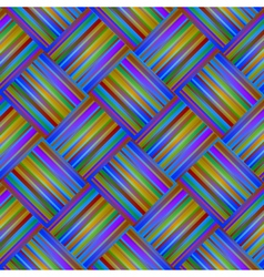 seamless rainbow Background with Lines and Stripes vector image