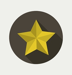 Star shape design vector