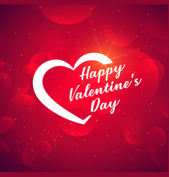 valentines day creative background vector image