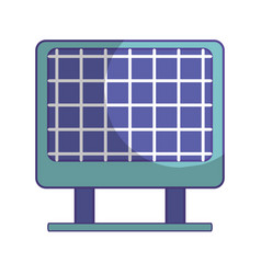Solar energy to protection and enviroment care vector
