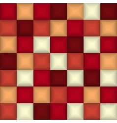 3d square mosaic abstract colorful background vector